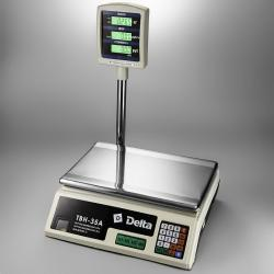 Весы торговые ТВН-35А Delta, до 35 кг