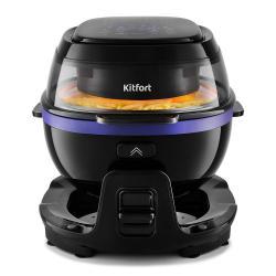 Аэрогриль Kitfort КТ-2218-1, цвет черный