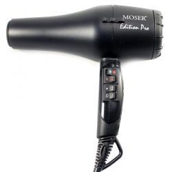 Фен Moser Edition Pro, 2100 Вт, 2 насадки (черный)
