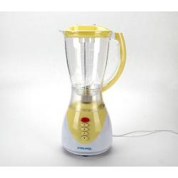 Блендер с чашей Zimber, 300 Вт (белый, желтый)