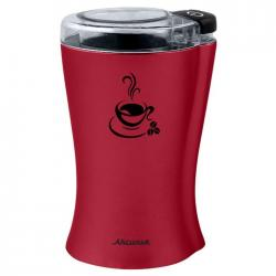 Кофемолка электрическая Аксинья КС-601, 200 Вт (бордовый)