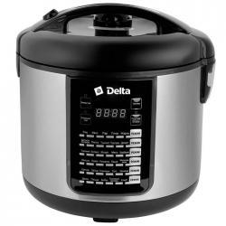 Мультиварка Delta DL-6516 5 л, 900 Вт, цвет чёрный