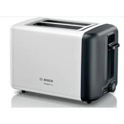 Тостер BOSCH TAT 3P421, 970 Вт (белый)
