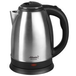 Чайник электрический, металлический Atlanta ATH-2431, 1,8 л, 1500 Вт, черный