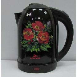 Чайник Добрыня DO-1215, 2 л, маки