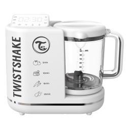 Комбайн 6 в 1 для приготовления детского питания Twistshake Food Processor, цвет белый